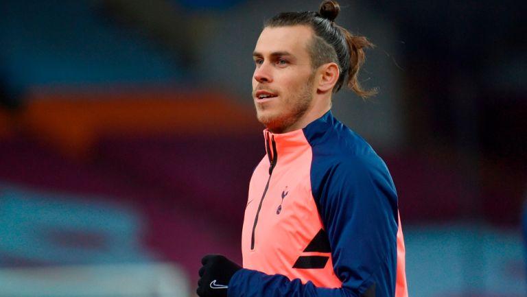 Gareth Bale previo a un duelo con el Tottenham