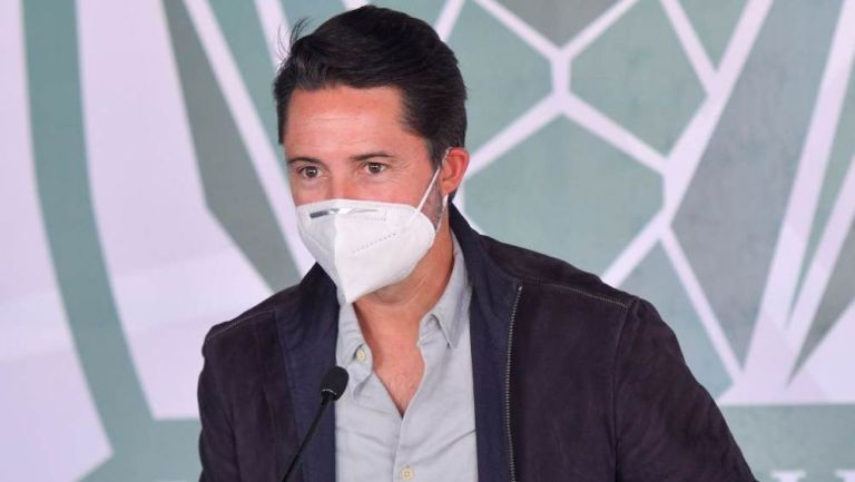 Yon de Luisa, presidente de la Federación Mexicana de Futbol