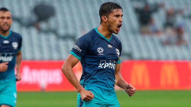 Ulises Dávila se lució con gol en victoria del Wellington Phoenix