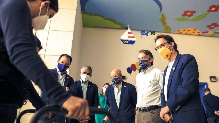 Emilio Azcárraga visitó el CRIT Estado de México