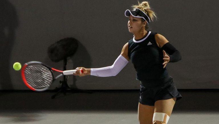 Renata Zarazúa le ganó a la 83 del ránking WTA en el Masters de Miami