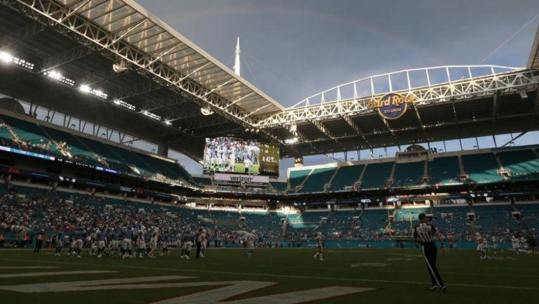 Hard Rock Stadium casa de los Miami Dolphins en la NFL
