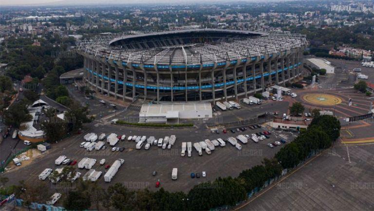 El mítico y dos veces mundialista Estadio Azteca