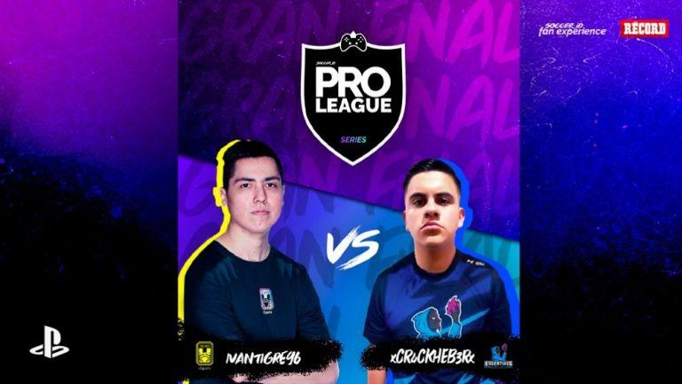 IvánTigre y Crackheber se enfrentan en la Final de la Pro League Series