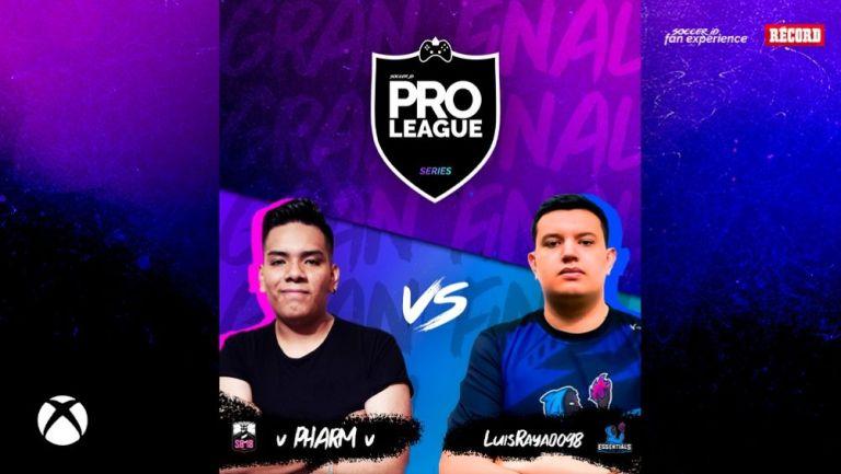 Pharm y LuisRayado se enfrentan en la final de la Pro League Series