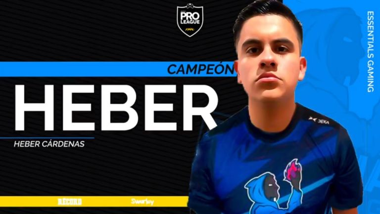 CrackHeber se coronó en la Pro League Series de PlayStation 4