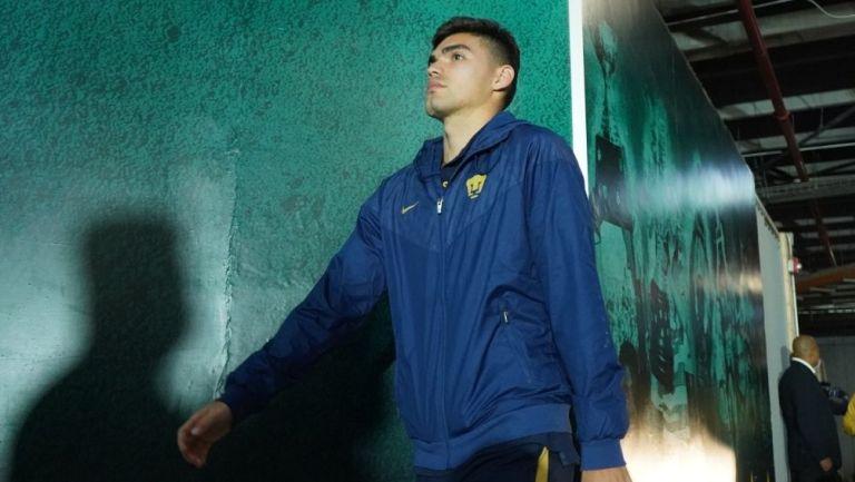 Vázquez previo a un partido con Pumas
