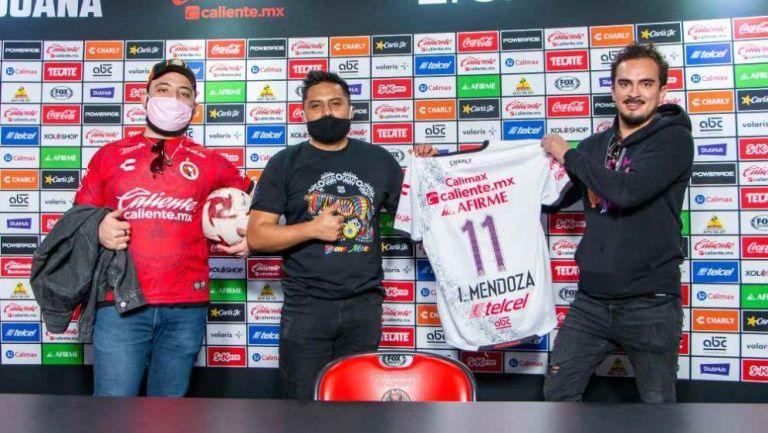 Slobotzky, Iván Mendoza y Ricardo Pérez