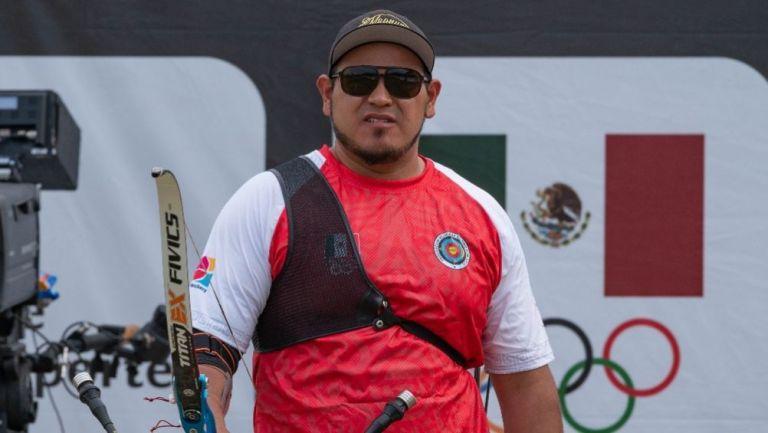Luis Álvarez en el Campeonato Panamericano de Tiro con Arco