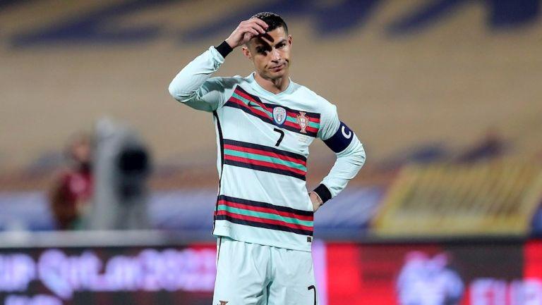 Cristiano Ronaldo en empate ante Serbia