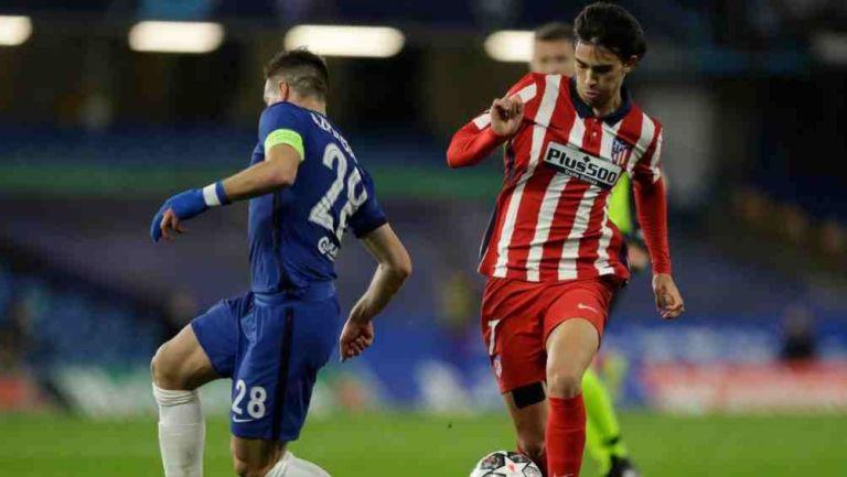 Joao Félix en acción con Atlético de Madrid