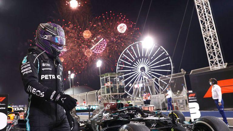 Gran Premio de Bahrein: Lewis Hamilton ganó en intenso duelo con Max Verstappen