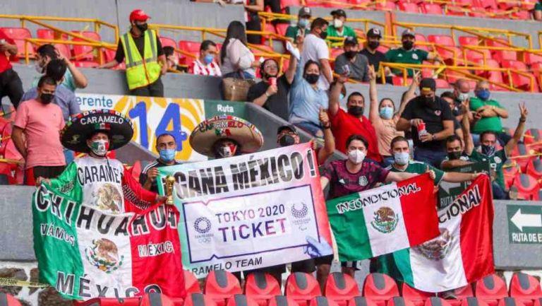Afición de México en el Jalisco