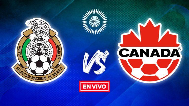 EN VIVO Y EN DIRECTO: México vs Canadá Semifinal