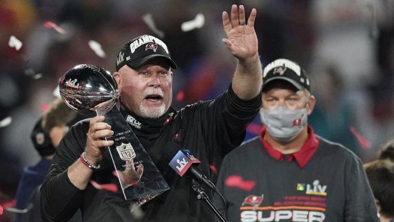 Bruce Arians, tras ganar el Super Bowl LV