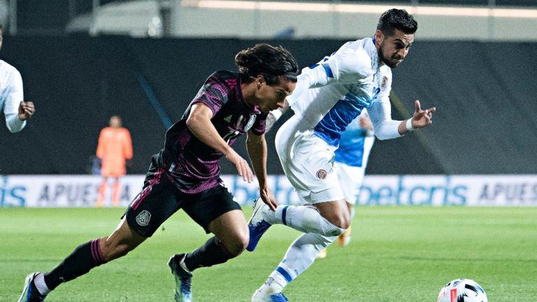 Diego Lainez en victoria vs Costa Rica