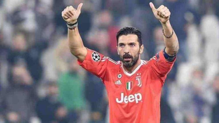 El arquero italiano durante un duelo en la Serie A