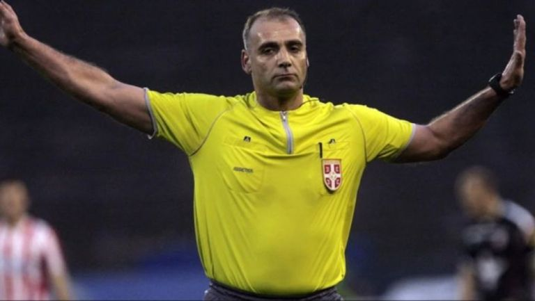 Srdjan Obradovic, árbitro en Serbia durante juego