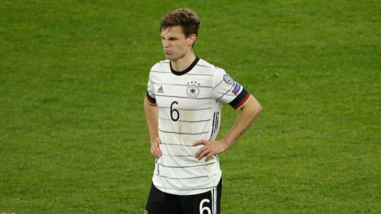 Joshua Kimmich en un partido con la Selección Alemana