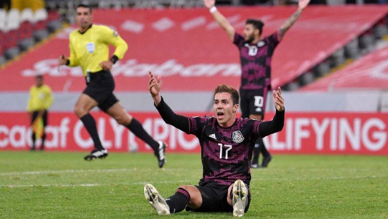 Selección Mexicana: Sebastián Córdova mostró herida tras juego ante Honduras