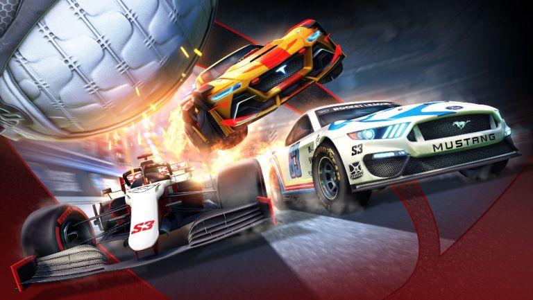 Rocket League anuncia su tercera temporada con NASCAR y F1