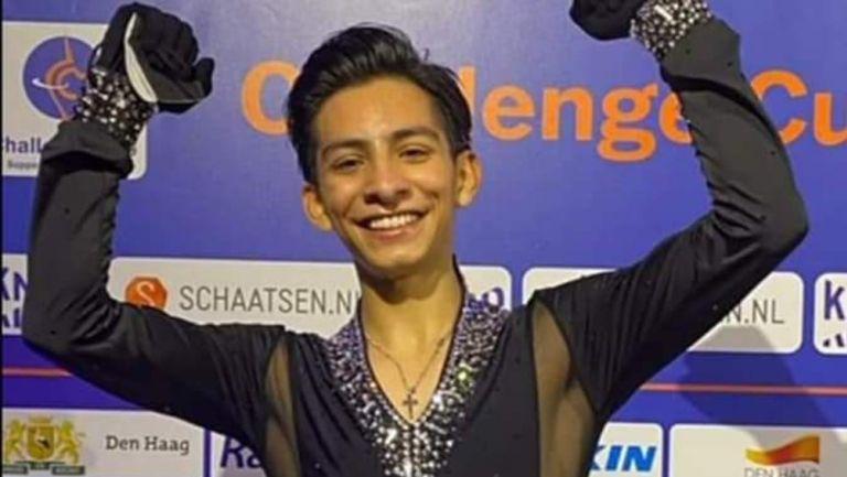 Donovan Carrillo clasificó a los JOI Beijing 2022