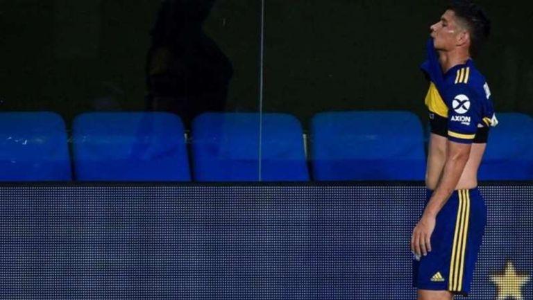 Jorman Campuzano, mediocampista de Boca Juniors