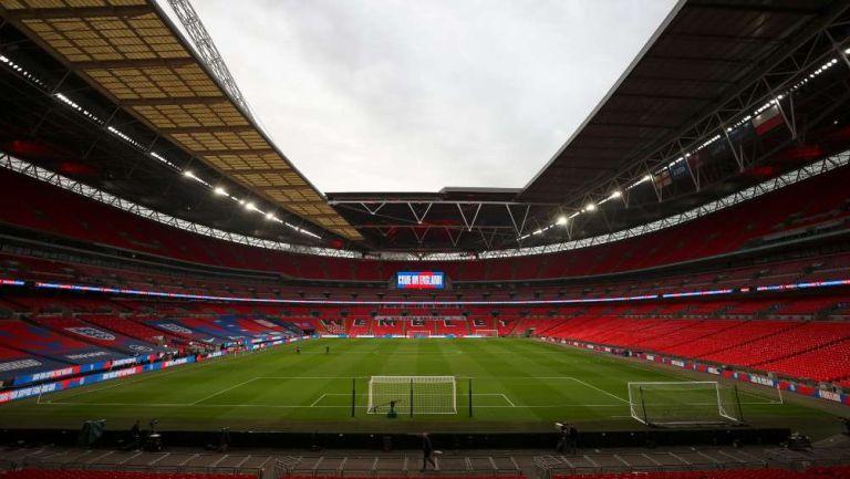 Estadio Wembley tendrá público