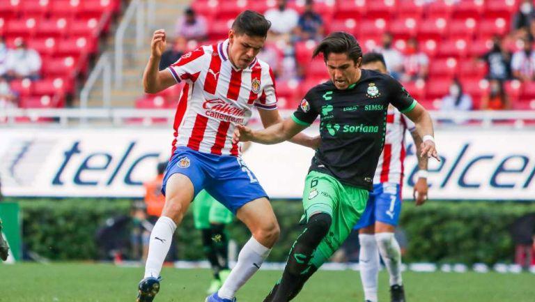 Chivas y Santos en partido
