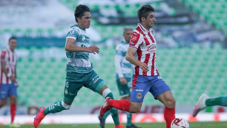 Santos vs Chivas en partido