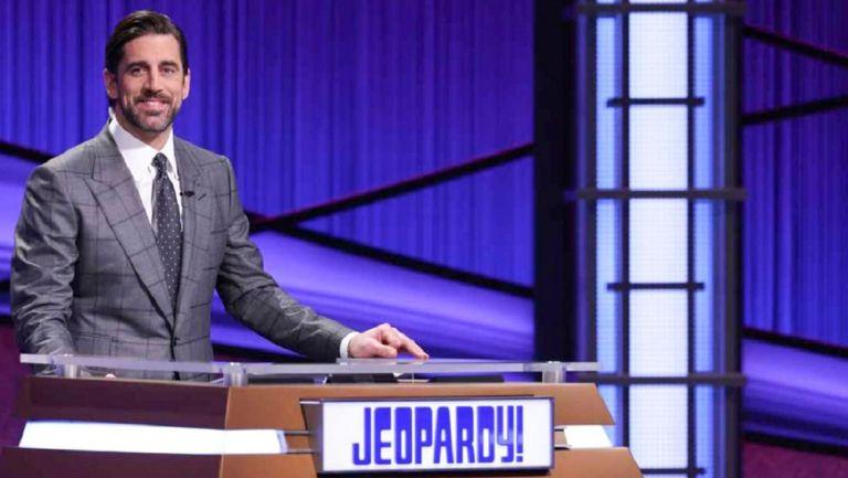 Aaron Rodgers, en su etapa como presentador