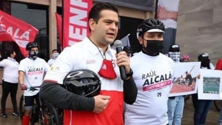 Raúl Alcalá se lanzó como candidato a Diputado Federal por el VI Distrito de Monterrey