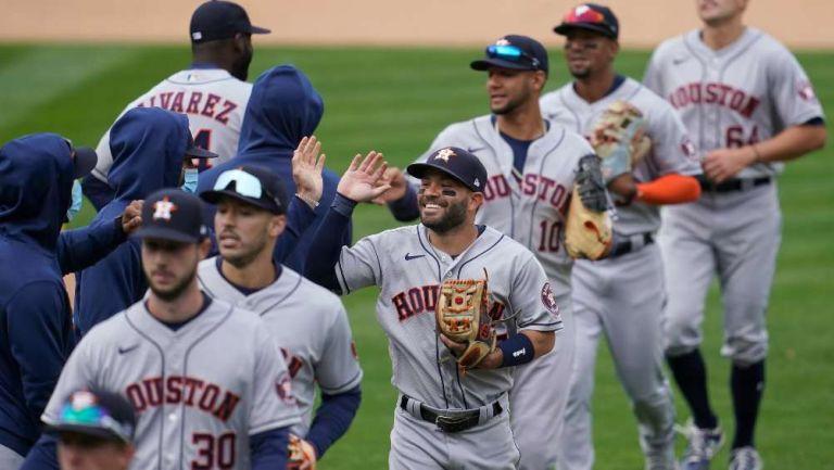 Astros previo a un partido