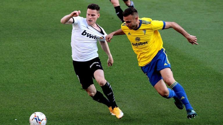 Juan Cala en partido vs Valencia