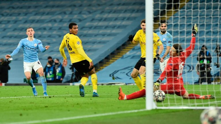 Champions League: Manchester City sacó mínima ventaja sobre el Borussia Dortmund