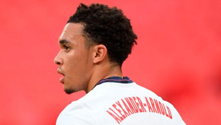 Trent Alexander-Arnold en juego con el Liverpool
