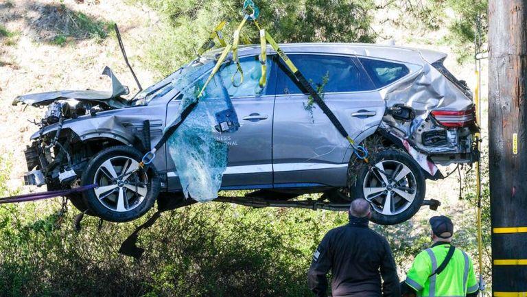 Tiger Woods: Accidente del golfista se debió a exceso de velocidad