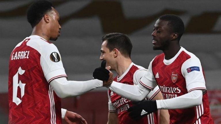 Arsenal logró abrir el marcador al 85'