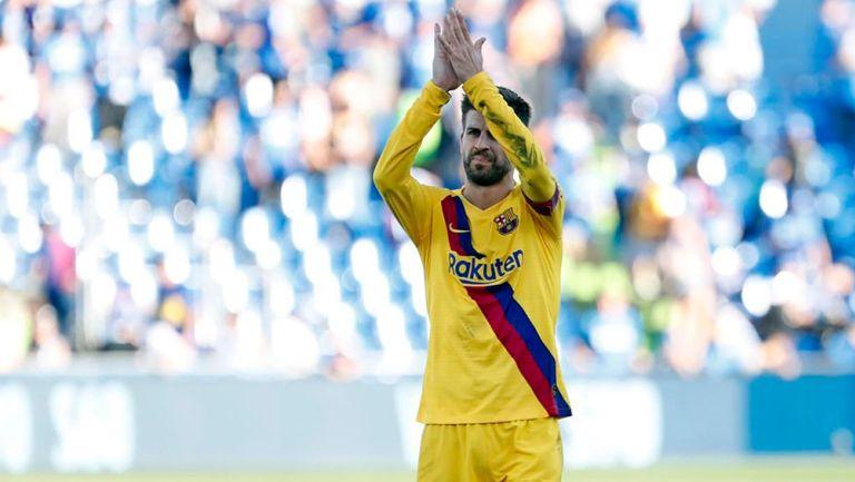 Barcelona: Gerard Piqué volvió a entrenar en grupo previo al Clásico español