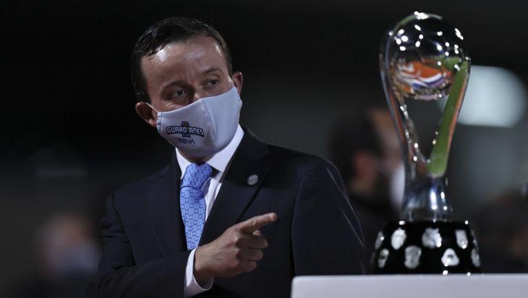 Mikel Arriola, Presidente de la Liga MX