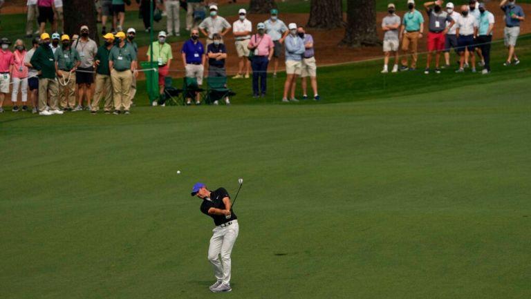 Rory McIlroy en el Masters de Augusta