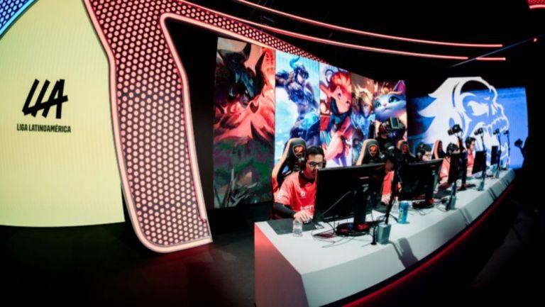 Un evento de la Liga Latinoamericana de League of Legends