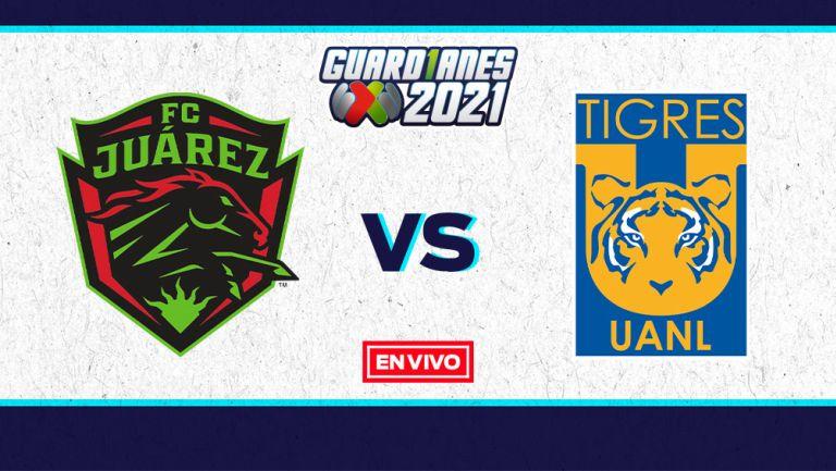 EN VIVO Y EN DIRECTO: Juárez vs Tigres Guardianes 2021 Jornada 5