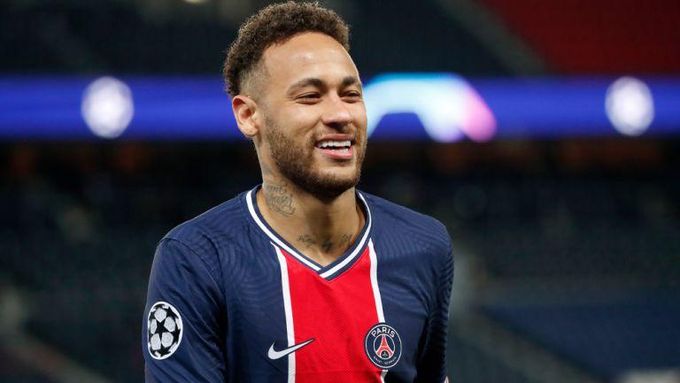 Neymar tras un duelo con el PSG
