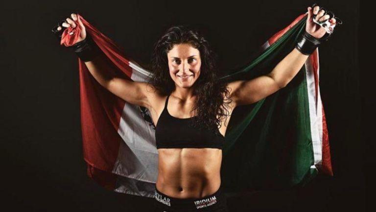 Guadalupe Godínez es la quinta mexicana que debuta en la UFC