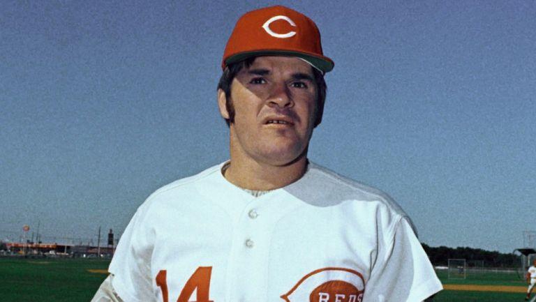 Pete Rose, exjugador de los Reds de Cincinnati