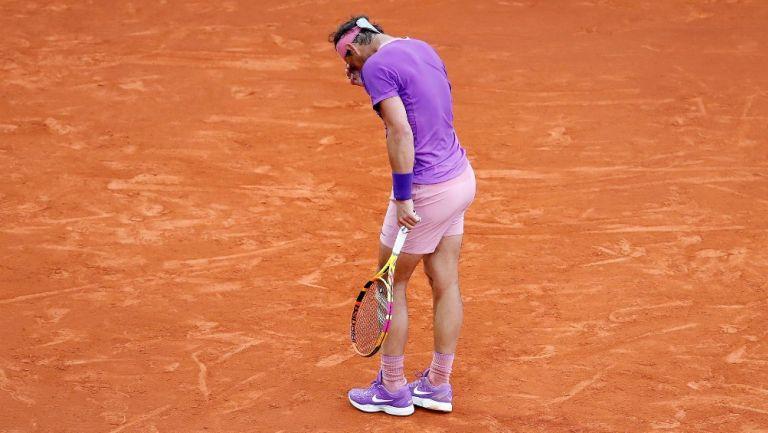 Rafael Nadal reacciona a su eliminación en el Monte-Carlo Rolex Masters