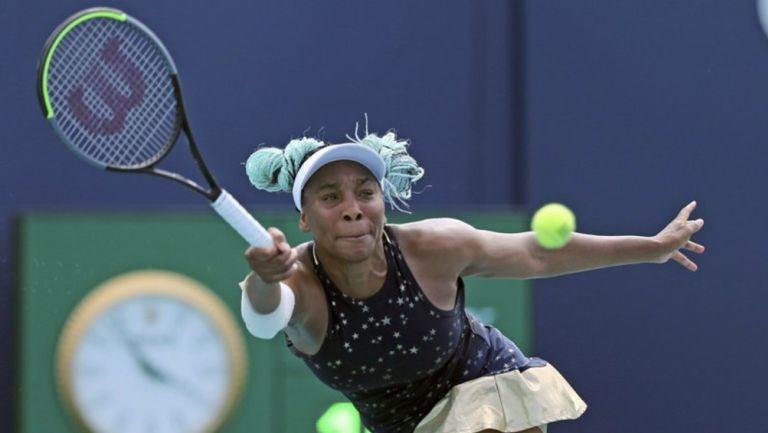 Venus Williams en el abierto de Miami