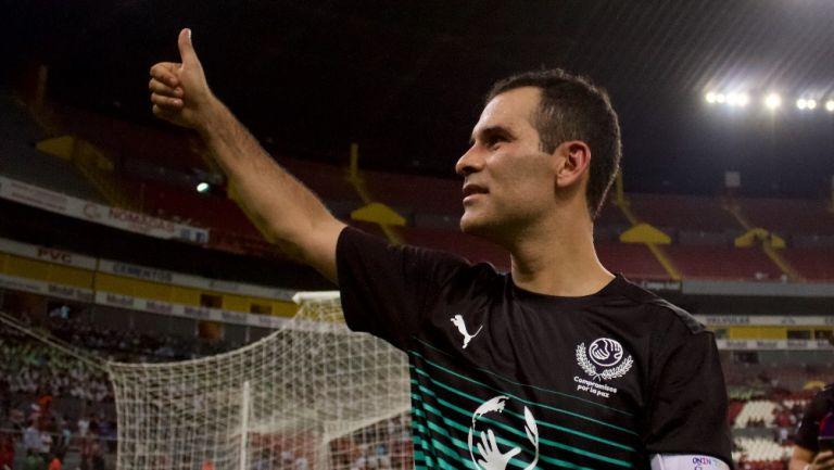 Rafa Márquez tiene la mira en Europa