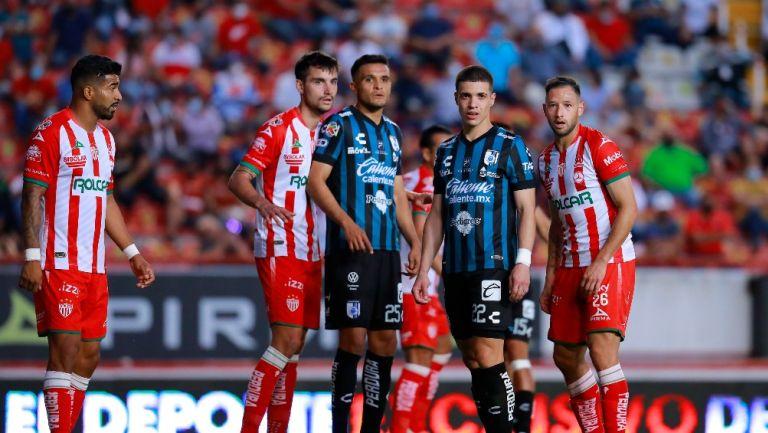 Necaxa y Querétaro empataron a cero en el Victoria